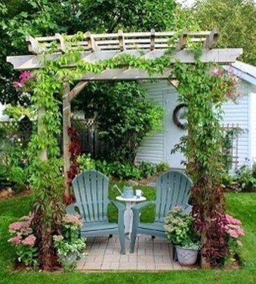 Garden Sitting Area Ideas | Garden Ideas | Pinterest | Garden