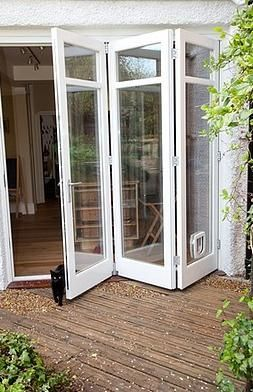Image result for alternatives to sliding glass doors | DIY Condo