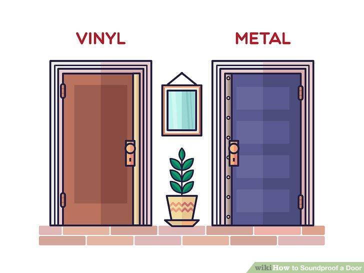 3 Ways to Soundproof a Door - wikiHow