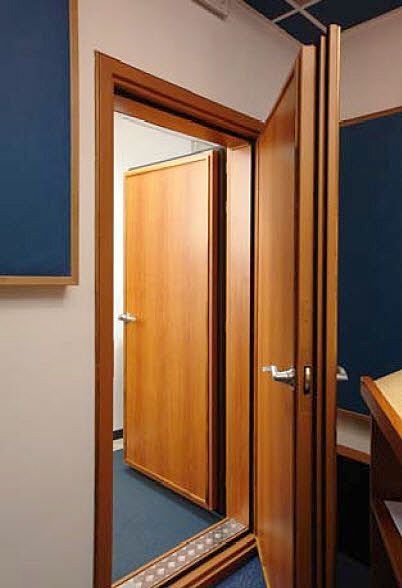 Ahhh whats that sound? NOTHING. sound proof doors for my