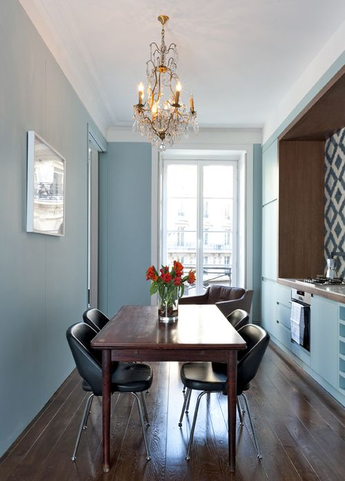 This apartment, Coq Heron, Paris (Where I'd Stay)  features a