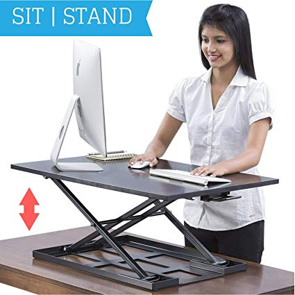 Amazon.com: Standing Desk Converter - Standup Ergonomic Height