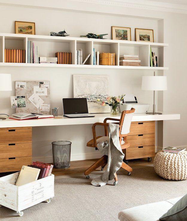 Cozy | Productivity-Boosting Study Room Ideas | Living Room Ideas