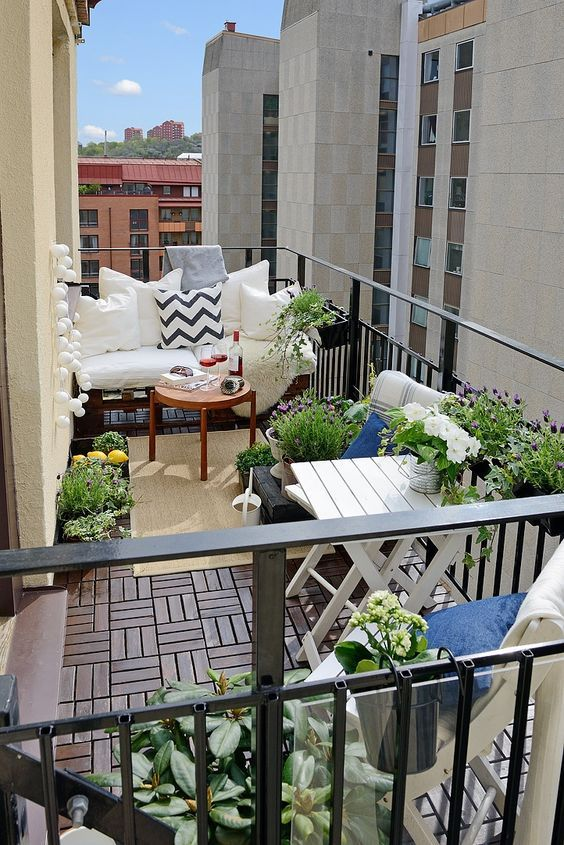Get Your Terrace Ready for The Wonderful Spring Time | Housublime