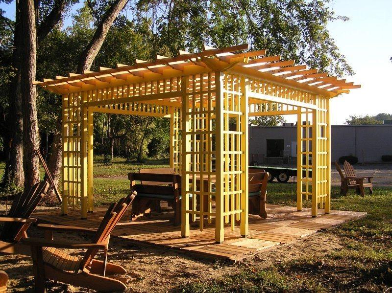 Wood Pergolas - Landscaping Network