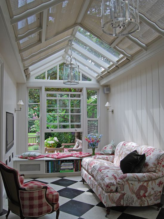 Airy yet cosy year round. The perfect conservatory balance is struck