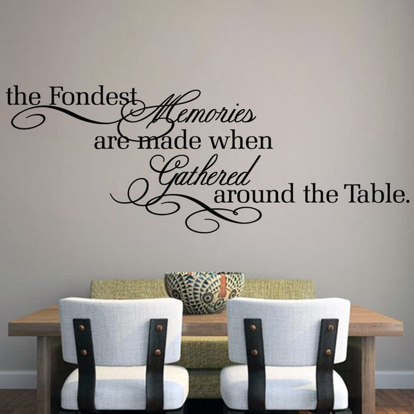 SweetumsWallDecals The Fondest Memories Wall Decal & Reviews | Wayfair