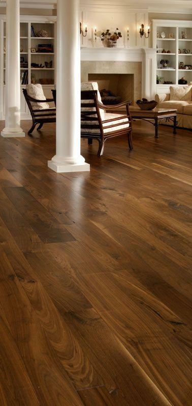Walnut flooring | Bedroom | Wood floor colors, Walnut floors, Dark