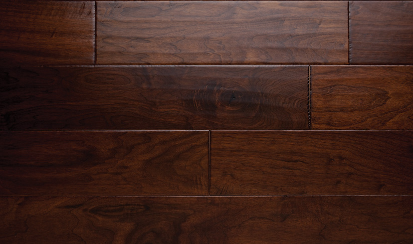 Apache - Dark Walnut Hardwood Floors, Elegant Hardwood Flooring