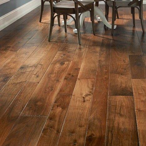 Hudson Bay Random Width Engineered Walnut Hardwood Flooring in