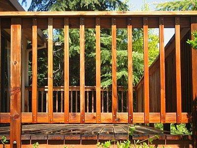 Wooden Balcony Railing, Gate, Grilles, Fences & Railings