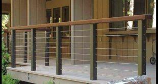 Decorations, Adorable Balcony Railing Design For Modern Home Ideas