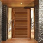 Maintain wooden entrance doors properly