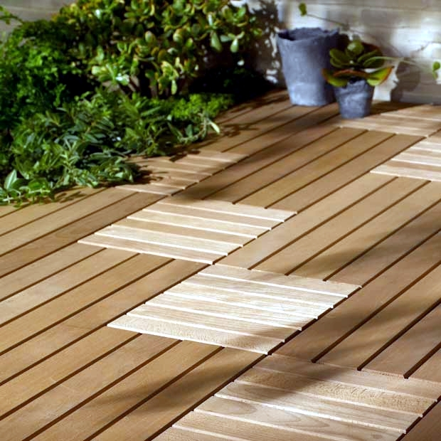 Wood tiles balcony u2013 why wood flooring is bang on trend | Interior