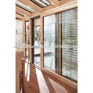 China Wooden Aluminum Sunrooms, Winter Garden /sun house on Global