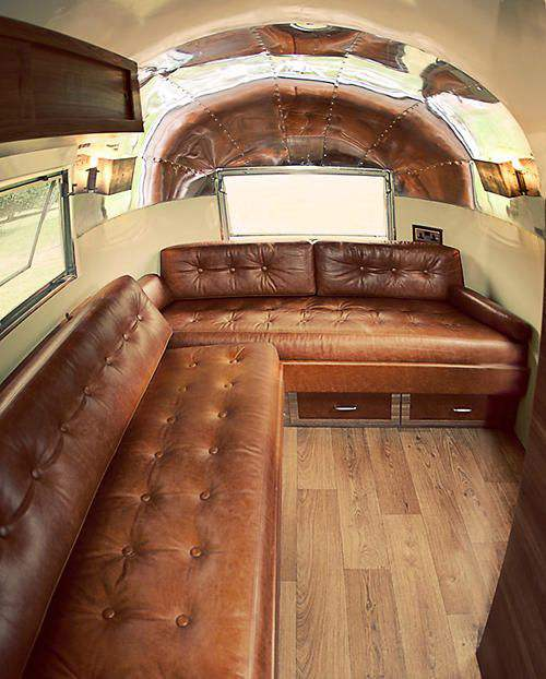 15 Awesome Airstream Interiors You Have to See   Mobile Home Living