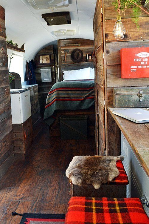 Take a Tour of 8 Beautifully Renovated Airstream Trailers | RV Decor