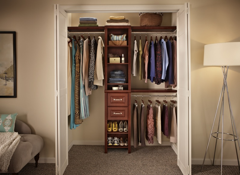 Creative Closet And Shoe Rack Design Photoage Net In Wall Storage