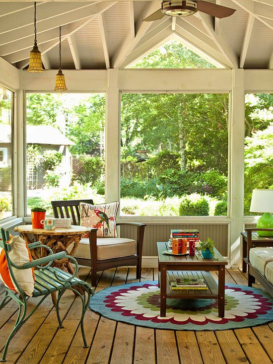 Indoor Porches You'll Love | MΨ ҒUTURΣ HΩMΣ | Screened porch designs