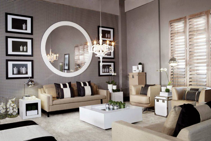 Interesting Inspiration Living Room Mirrors Amazing Design Beautiful