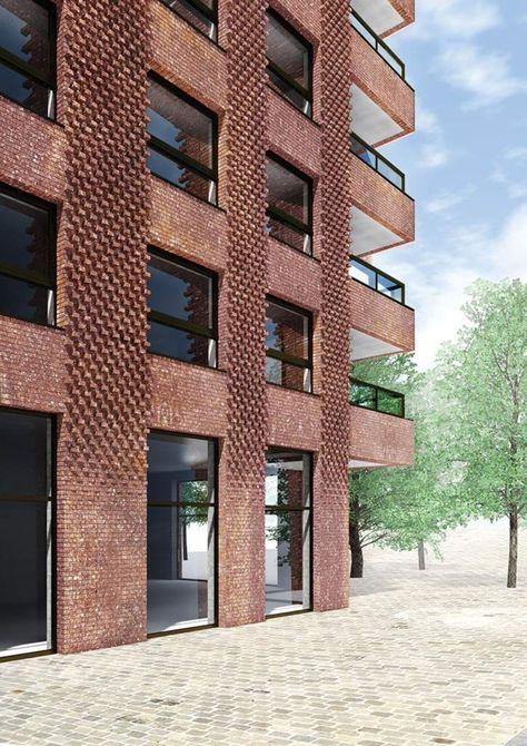 45 Awesome Artistic Exposed Brick Architecture Design | THP | Brick