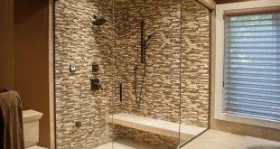 Bathroom Decorating Ideas With 15 Photos   House design   Walk in