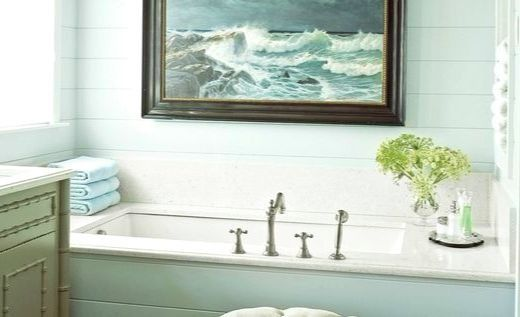 Coastal Wall Art Decor Ideas for the Bathroom | Coastal Bathrooms