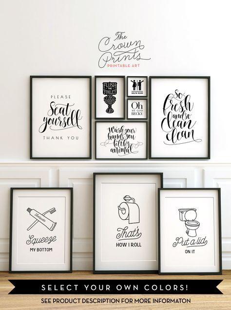 Pin by Steve Ellis on remodel ideas | Bathroom humor, Bathroom wall