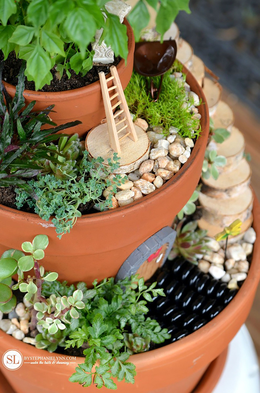 19 DIY Fairy Garden Ideas - How to Make a Miniature Fairy Garden