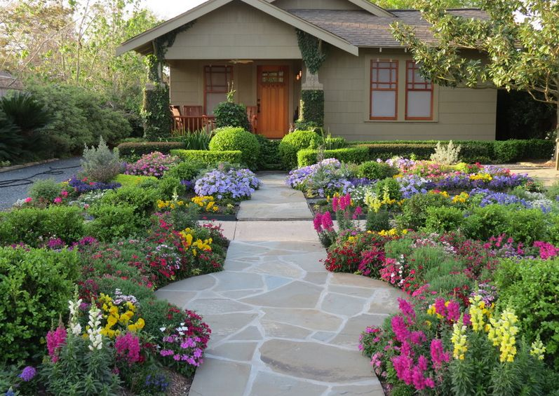 Beautiful Flower Frontyard Ideas