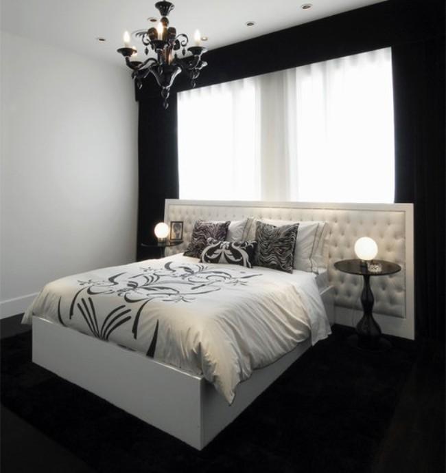 Bedroom Designs With Dark Wall 6
