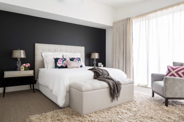 Bedroom Designs With Dark Wall – savillefurniture