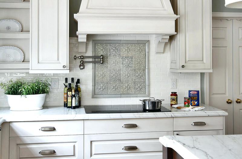 Best Kitchen Backsplash The Best Kitchen Ideas For White Cabinets
