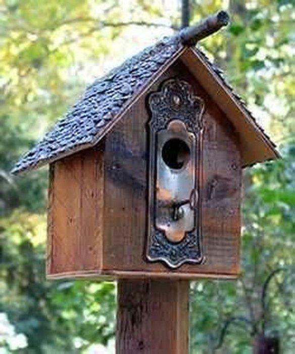 50 Amazing Bird House Ideas For Your Backyard Space   Bird house