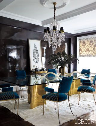14 Gilded Rooms That Will Inspire You To Go For The Gold | Interior