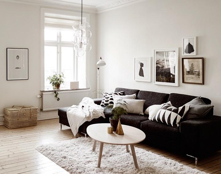 48 Black and White Living Room Ideas - Decoholic