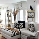 Black White Livingroom Ideas