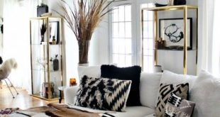 48 Black and White Living Room Ideas | Home Idea's* | Black, white