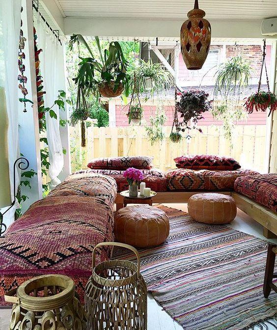 Bohemian Style Living Room u2013 Auxbouquetsdeconfitures