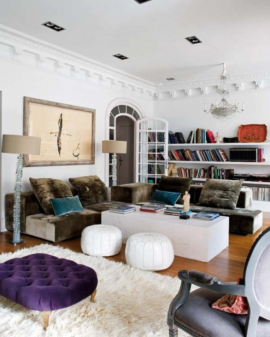 Bohemian Style For Living Room Savillefurniture