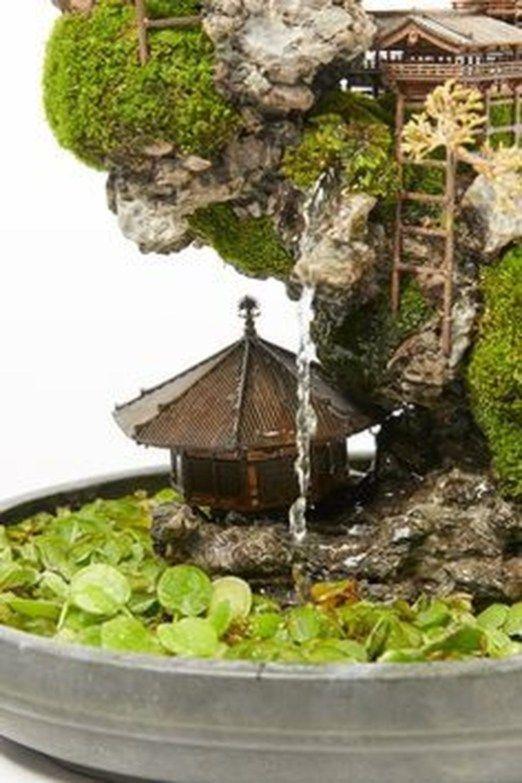 Stunning Bonsai Terrarium Miniature Landscaping Jars 23 | Bonsai