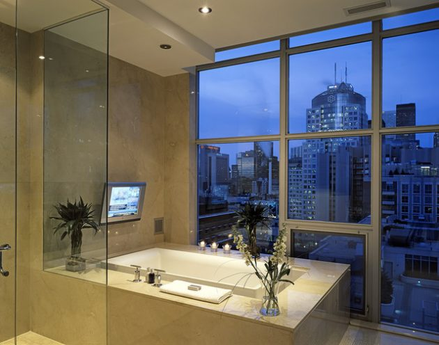 Breathtaking Bathrooms With Infinity Bathtubs 10