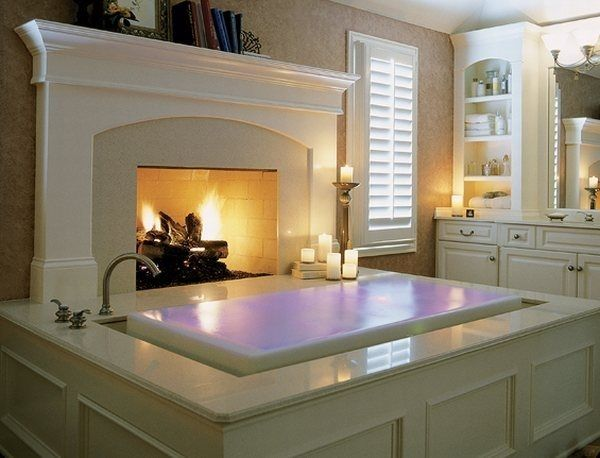 Breathtaking Bathrooms With Infinity Bathtubs 3