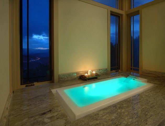 Breathtaking Bathrooms With Infinity Bathtubs 6
