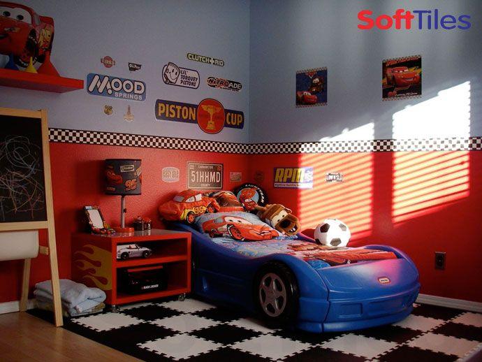 Car Themed Room Racing Theme Bedroom Kids Room Ideas Pinterest