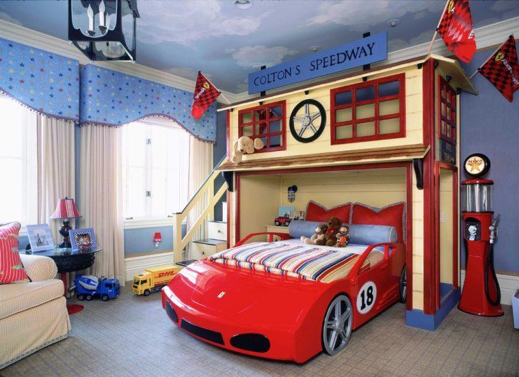 Car Bed Designs For Kids Room