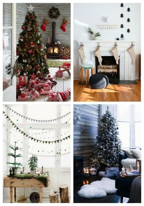 Scandinavian Christmas Home Decor Ideas | ComfyDwelling.com