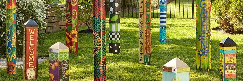 25 Colorful Peace Poles Design Ideas for Your Garden - DecOMG