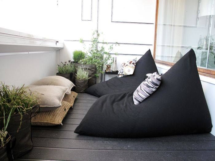 Comfortable bean bags - perfect for a lazy relaxing Sunday afternoon