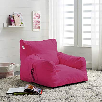Amazon.com: Loungie Fuchsia Foam Lounge Chair - Design: Comfy